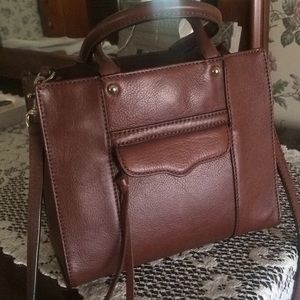 Rebecca Minkoff Mini Mab M.A.B. Tote in Chestnut